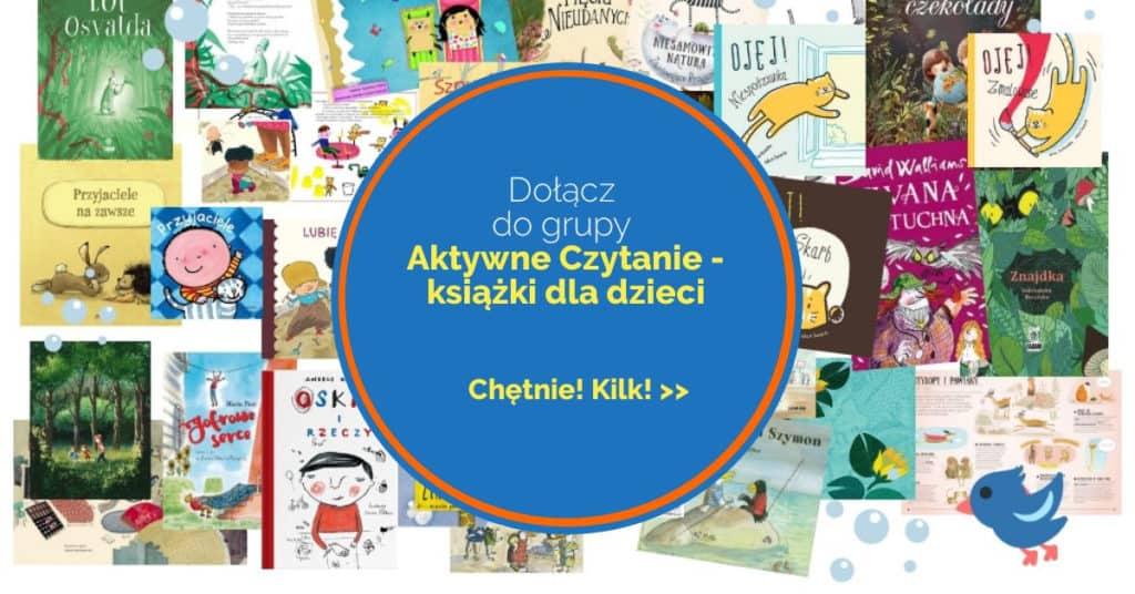 Aktywne Czytanie – książki dla dzieci