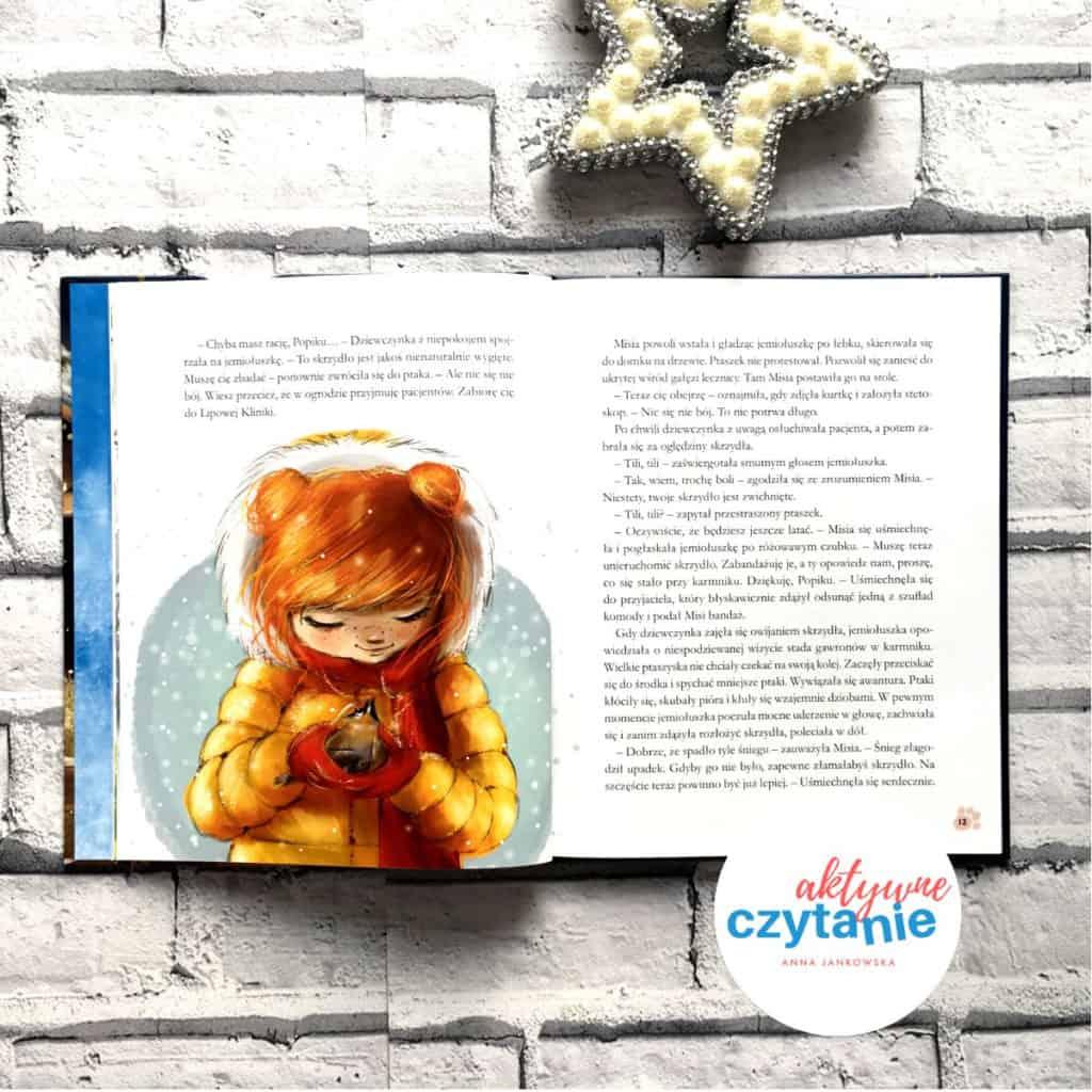 jemiołuszka ksiązka dla dzieci