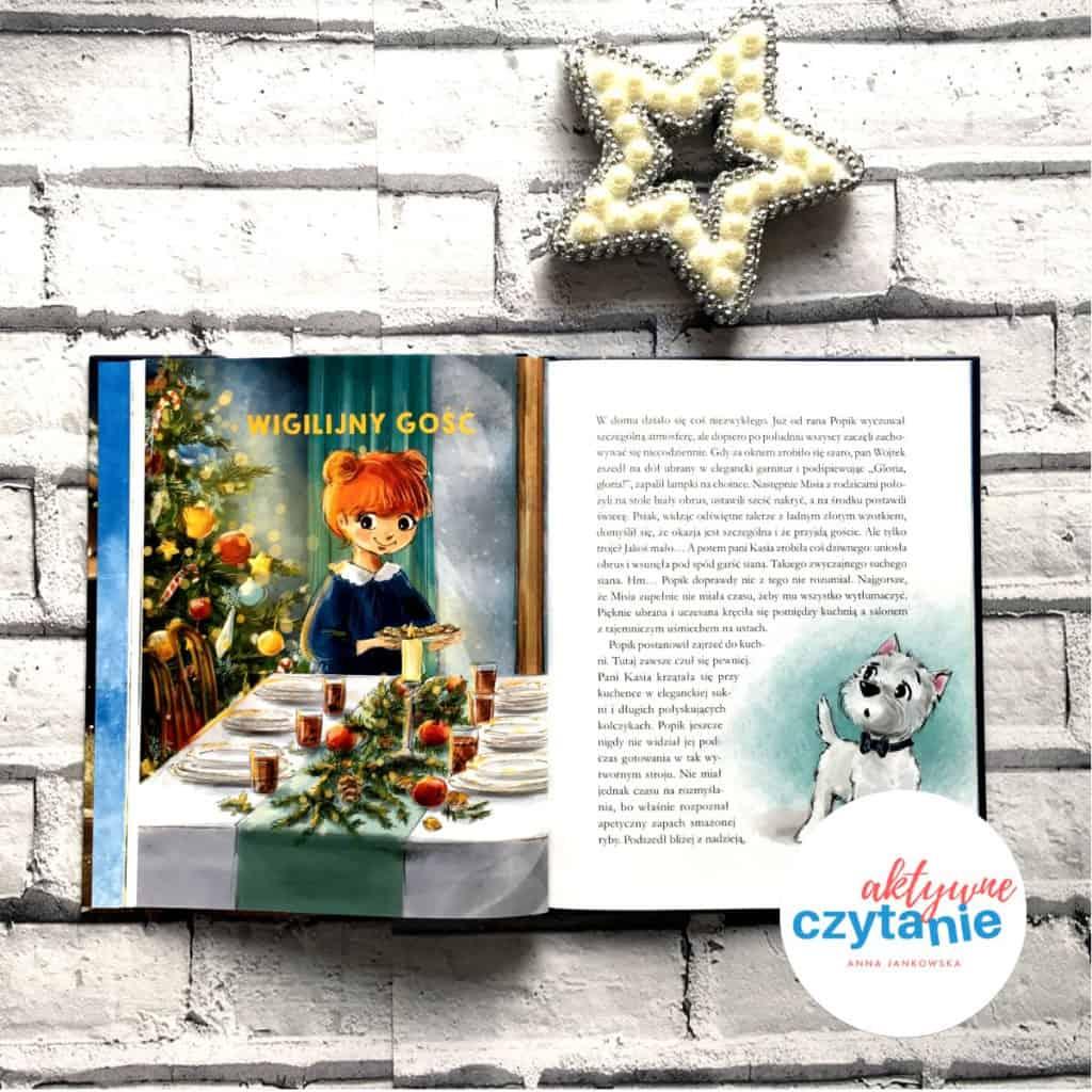 wigilia ksiązka dla dzieci