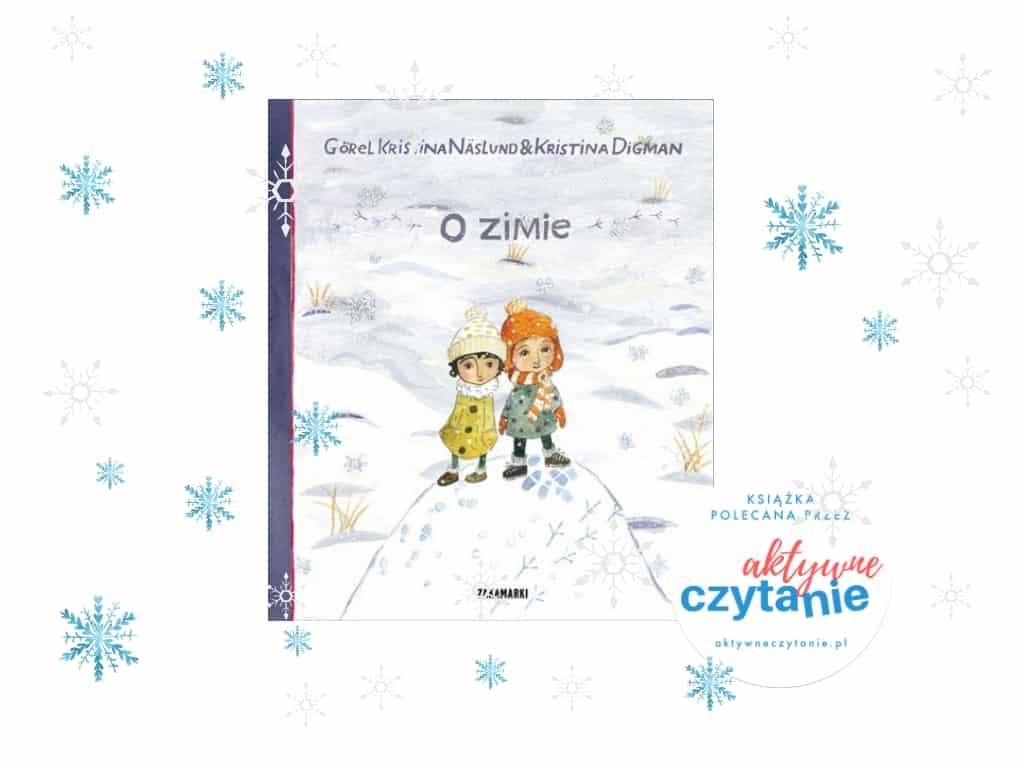 O zimie książka dla dzieci recenzja