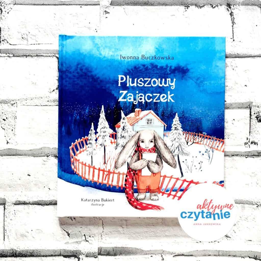 Pluszowy Zajączek książki dla dzieci