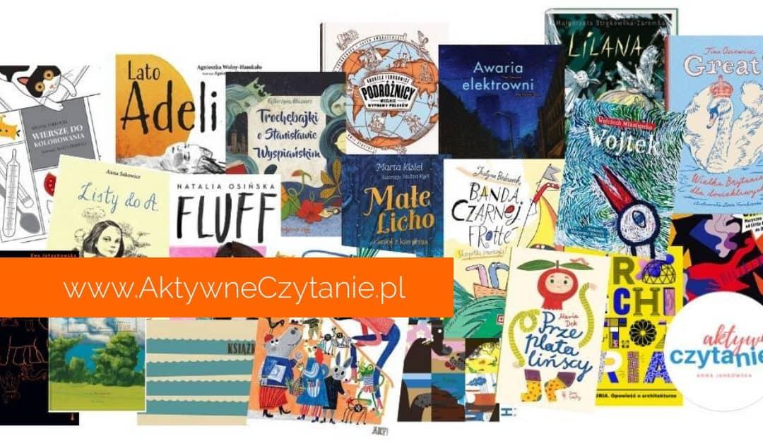20 książek dla dzieci. Książki nominowane donagród