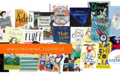 20 książek dla dzieci nominowanych donagród