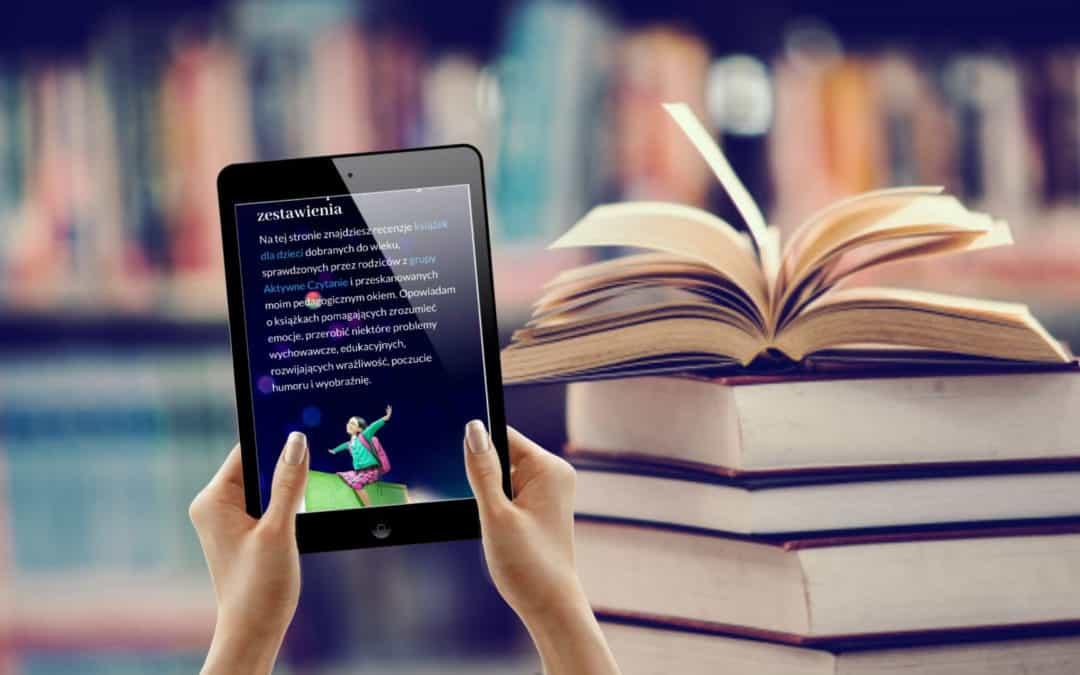 Współpraca blog Aktywne Czytanie