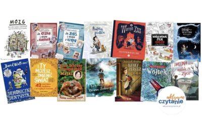 Książki dla 10-latka. Tu coś napewno wybierzesz