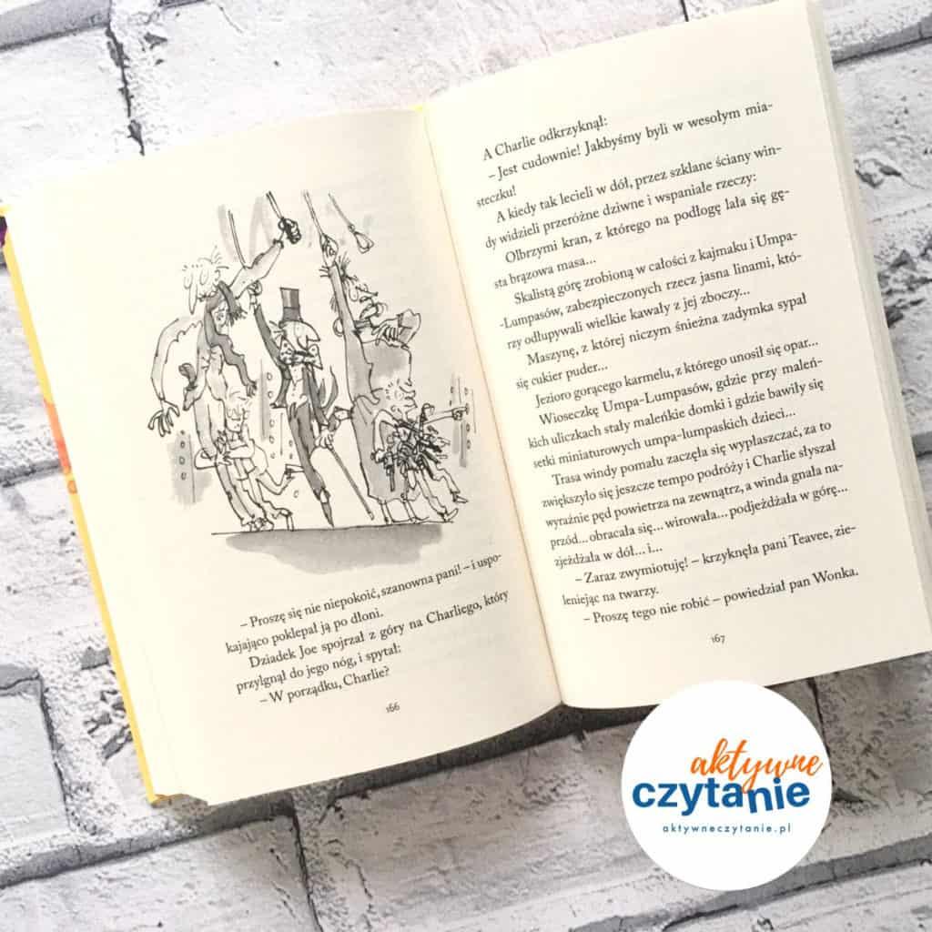 Charlie iFabryka Czekolady Roald Dahl ksiązka