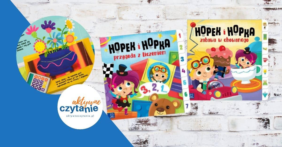Hopek iHopka ksiązki dla dzieci recenzja