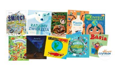 Książki dla dzieci oekologii iprzyrodzie