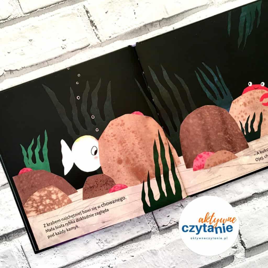 zabawa wchowanego ryba krab kamień ocean książka