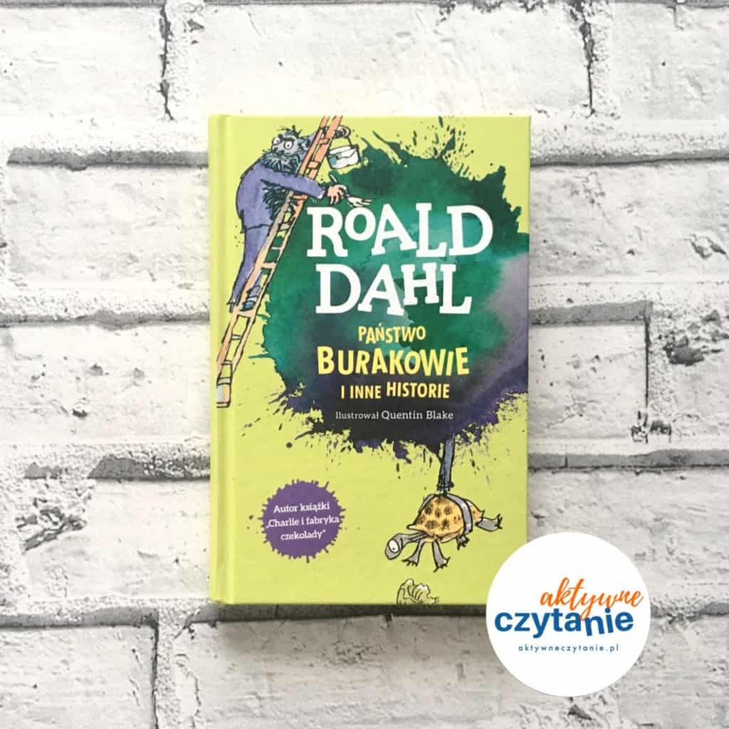 Państwo Burakowie Roald Dahl okładka