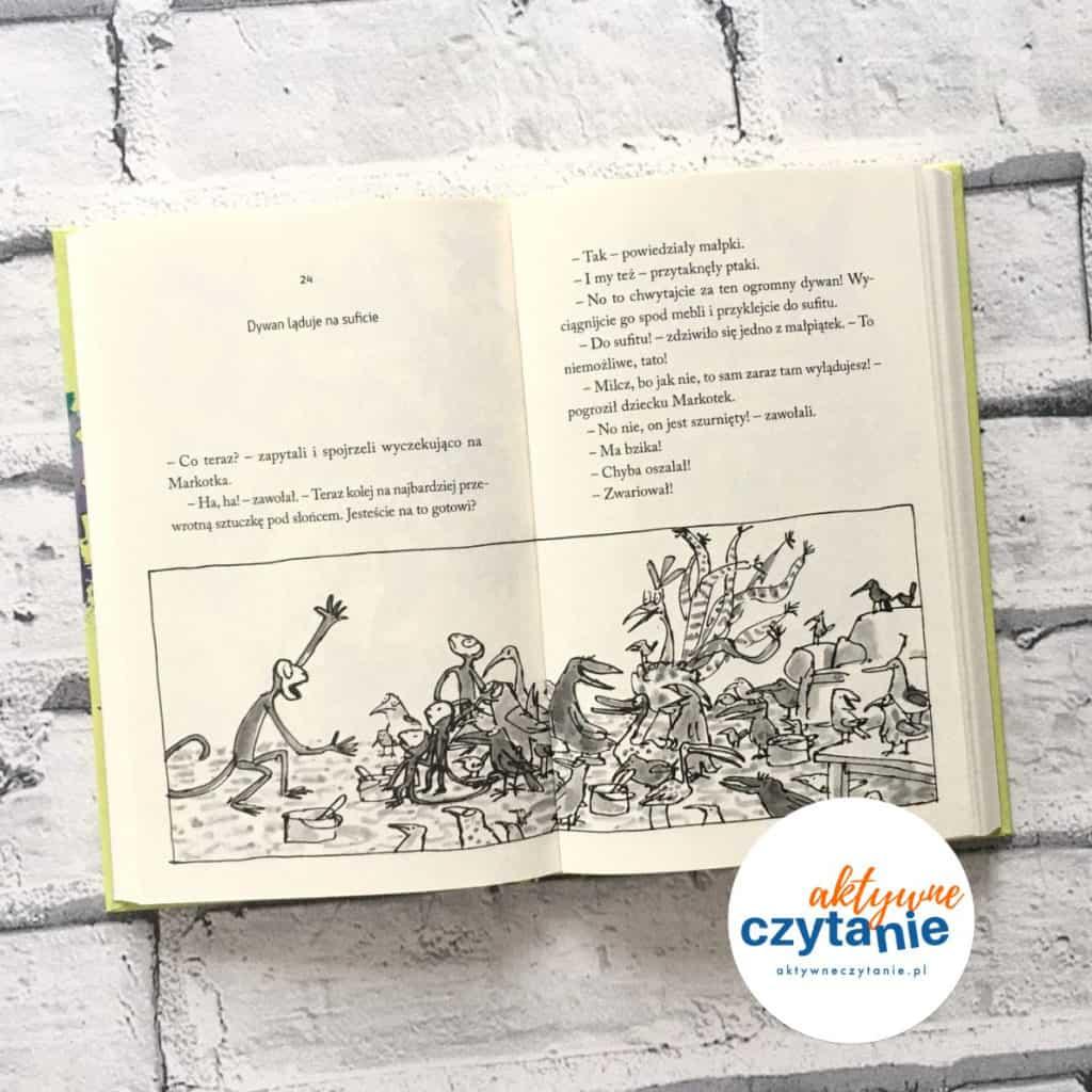 Państwo Burakowie Roald Dahl zwierzęta
