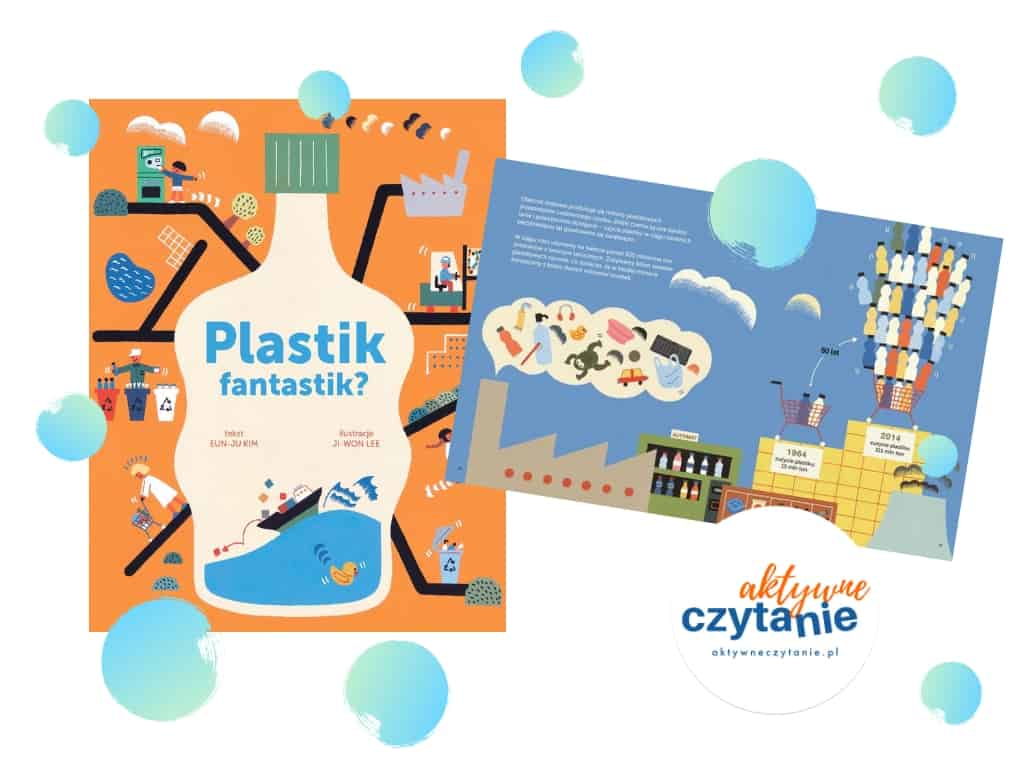 Plastik fantastek ksiązka dla dzieci ekologia