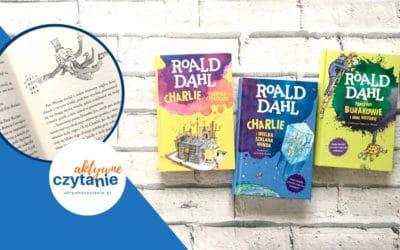 3 książki kultowego autora – Roald Dahl
