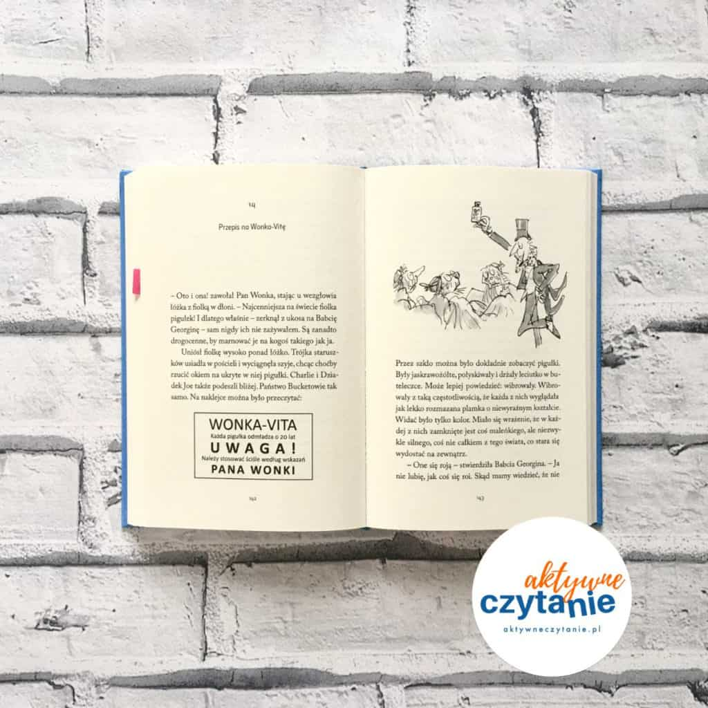 Roald Dahl Charlie iwielka szklana  książka