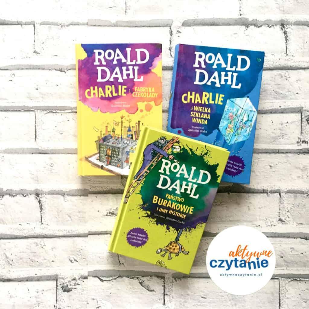 Roald Dahl 3 ksiązki