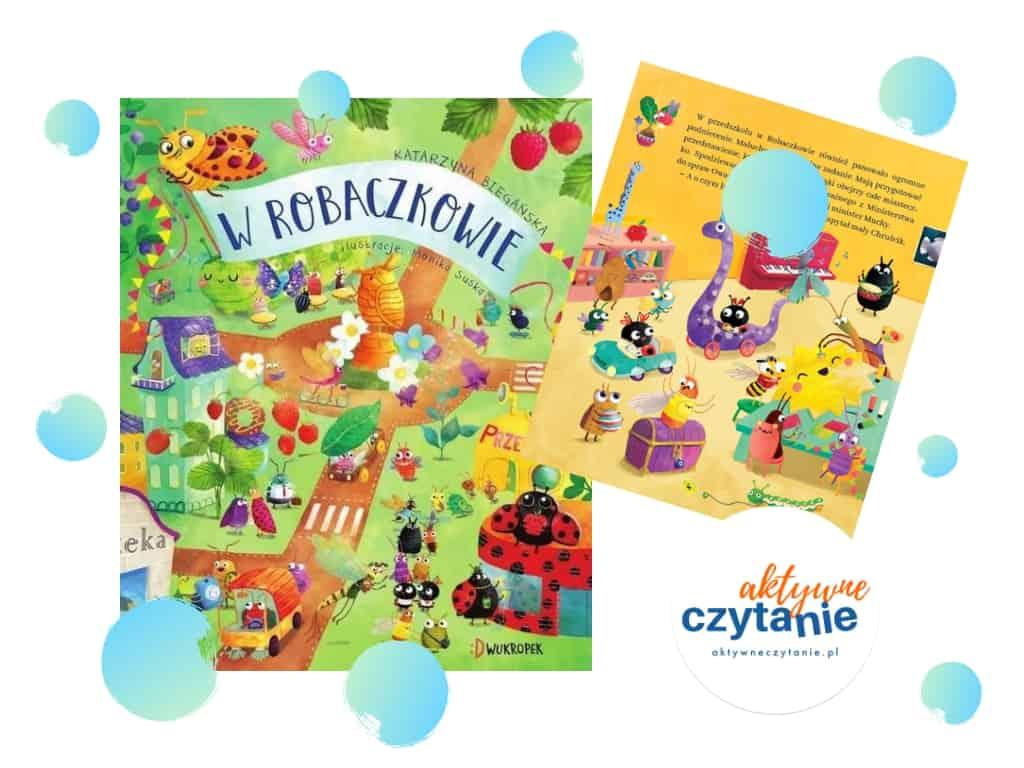 W Robaczkowie. Bajka ekologiczna recenzja ksiązki dla dzieci