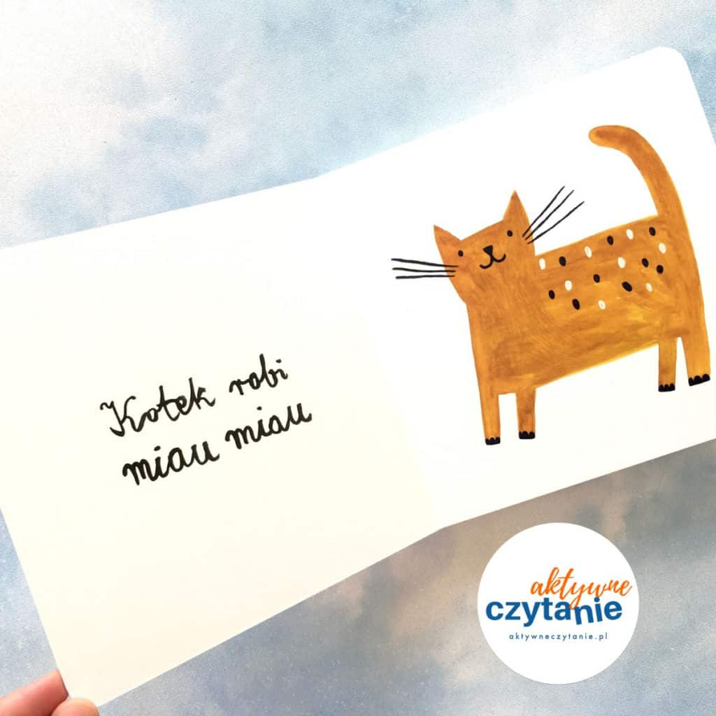 a gugu kot ksiązka dla dzieci miau