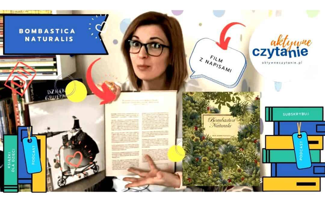Bombastica Naturalis – niezwykła książka dla dzieci