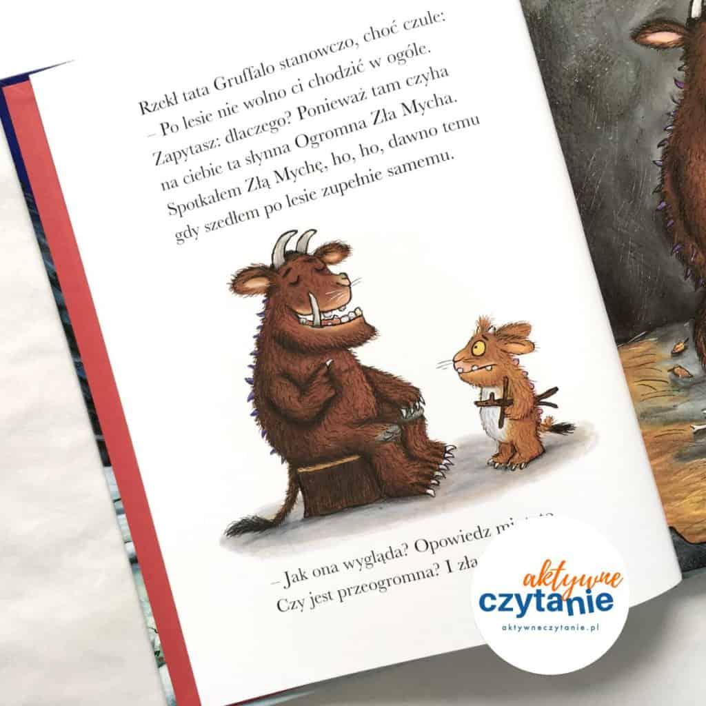 Gruffalo książka book
