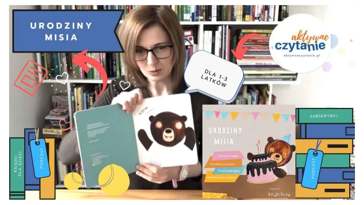 urodziny misia książka dla dzieci