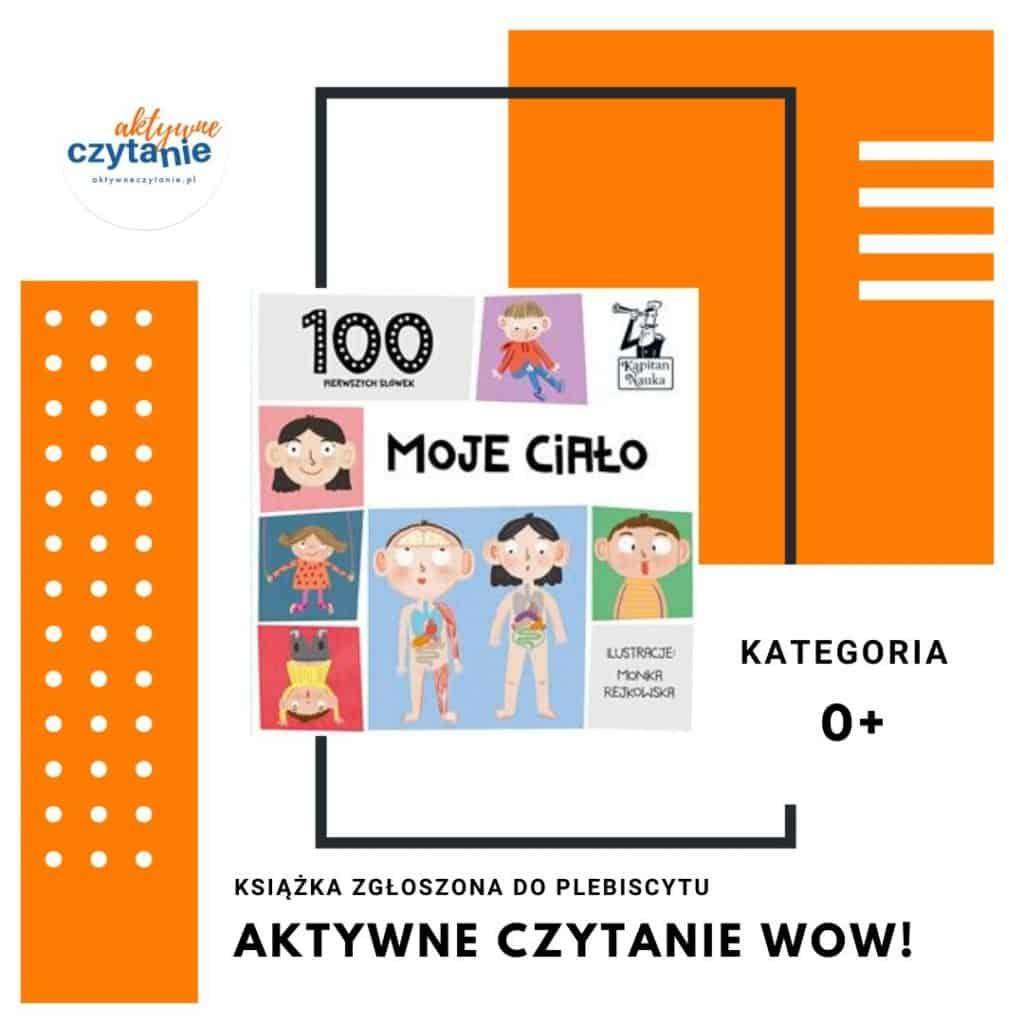 100 pierwszych słówek mojeciało książki dla dzieci
