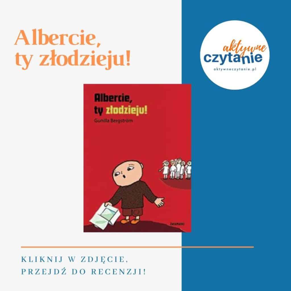 Albercie ty złodzieju książki dla dzieci montessori