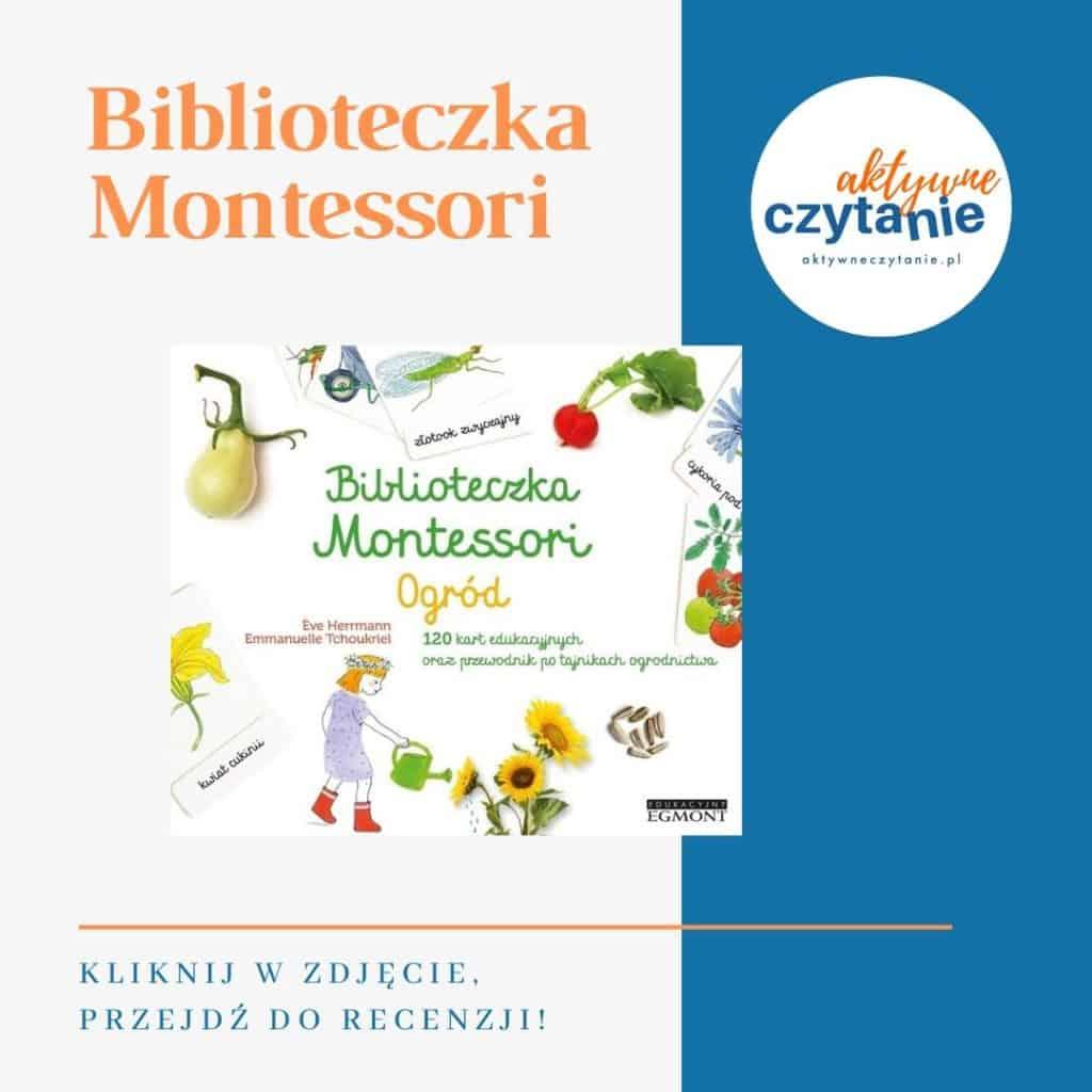 Biblioteczka Montessori książki dla dzieci montessori friendly