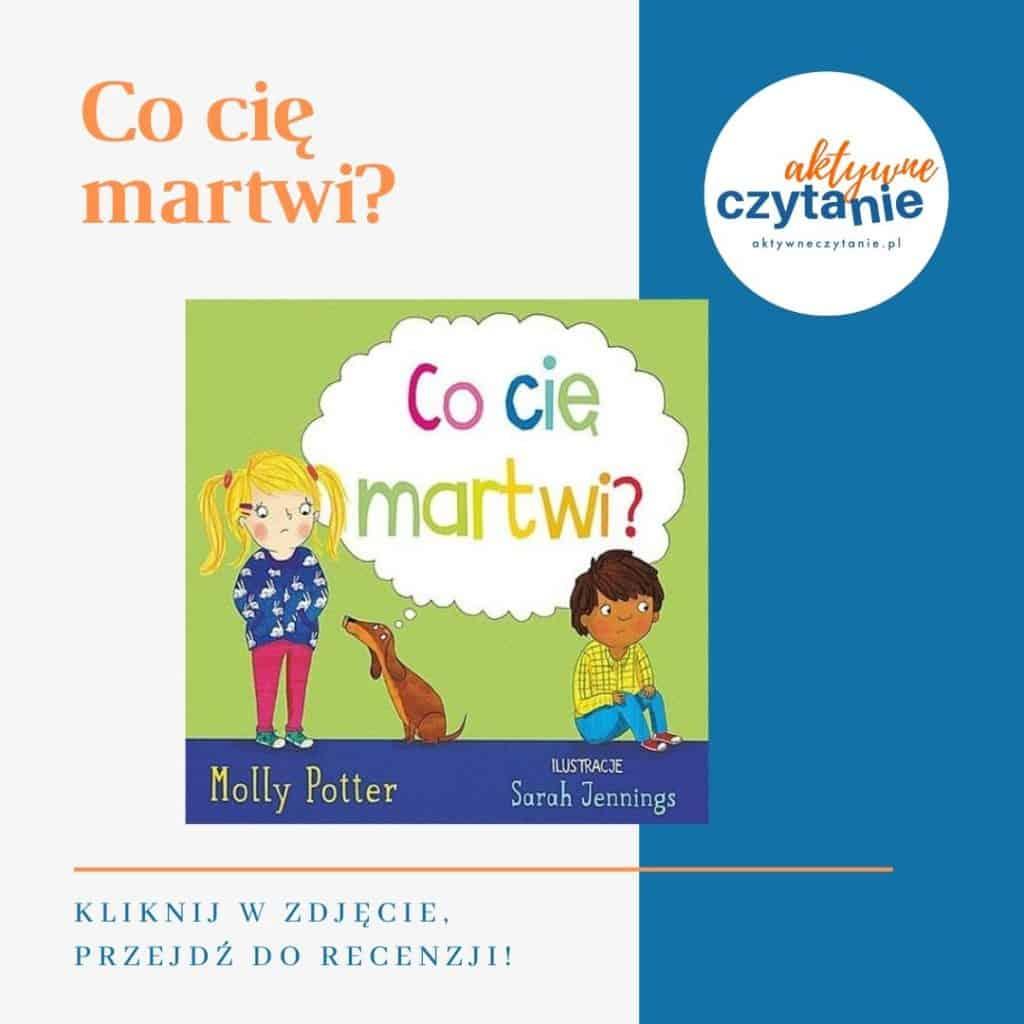 Co cię martwi? książki dla dzieci montessori friendly
