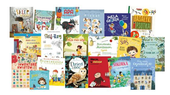Ksiązki dla dzieci montessori