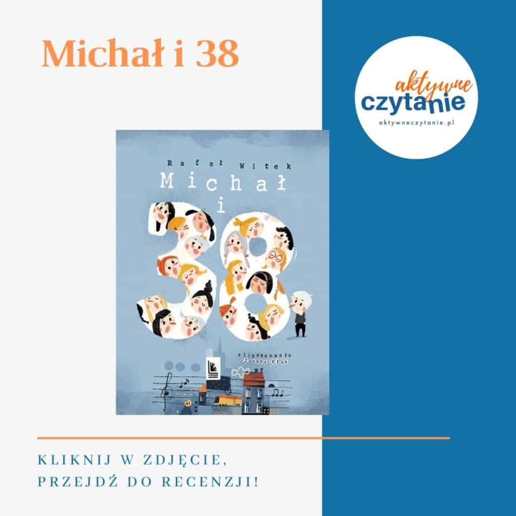 Michał i38 książki dla dzieci montessori friendly