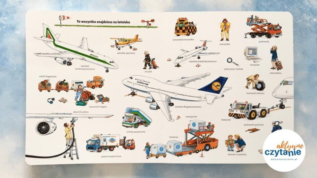 Moje pierwsze podróże samolotem  samoloty