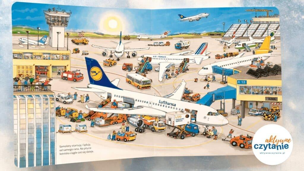 Moje pierwsze podróże samolotem