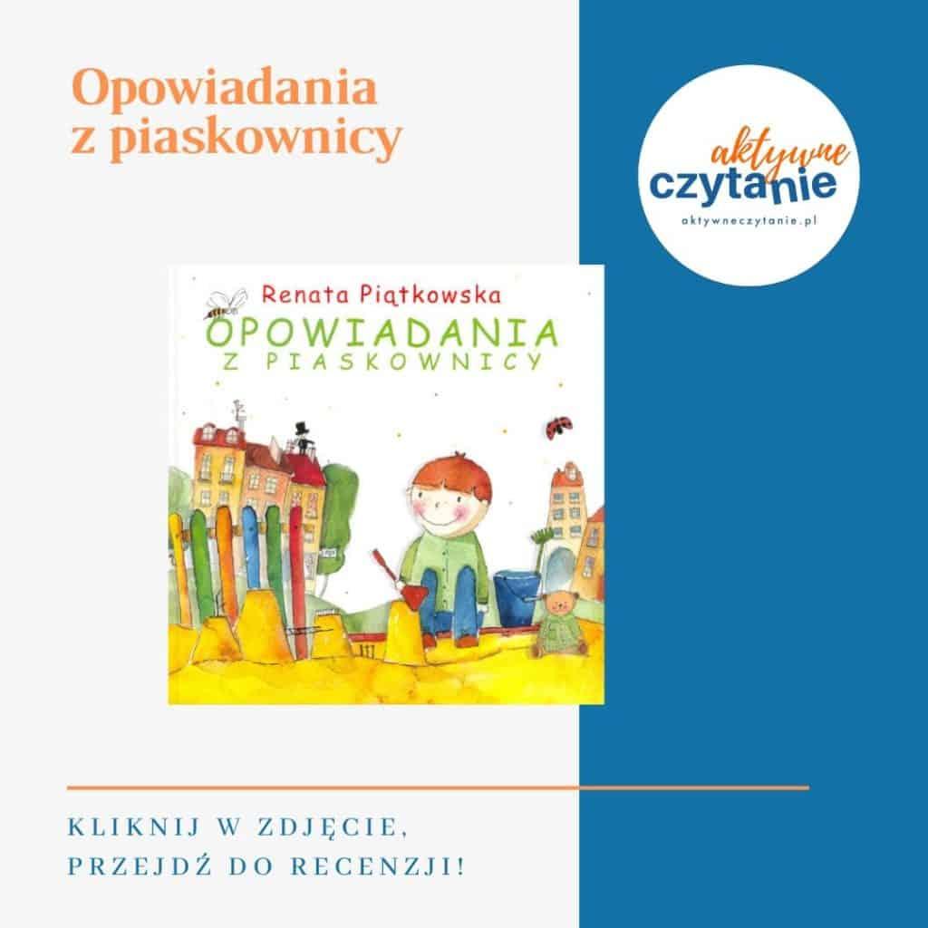 Opowiadania zpiaskownicy książki dla dzieci montessori friendly