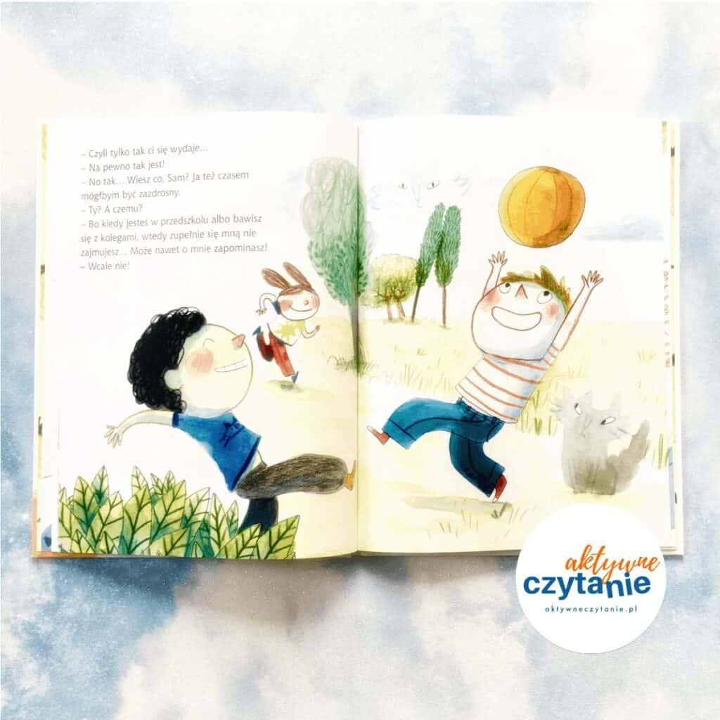 Sam iWatson pokonują zazdrość ksiązki dla dzieci recenza