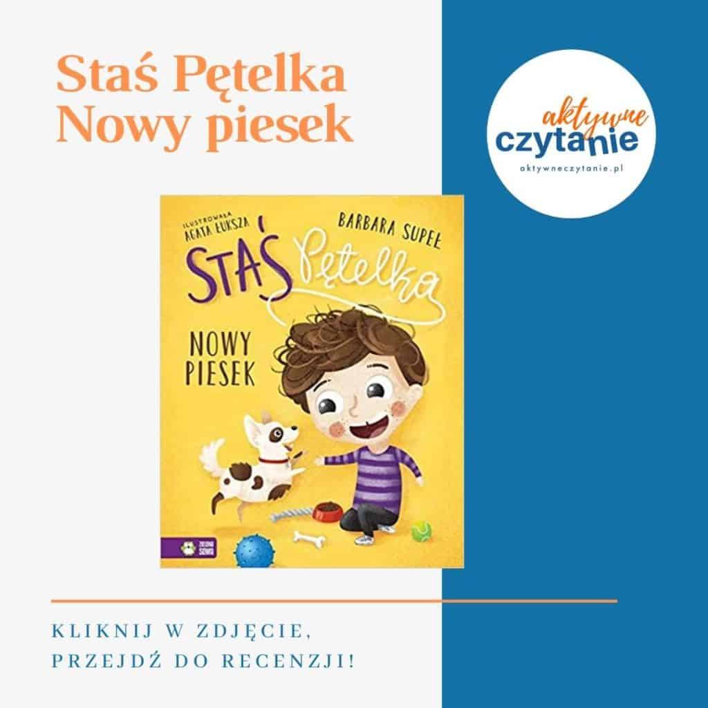 Staś pętelka książki dla dzieci montessori