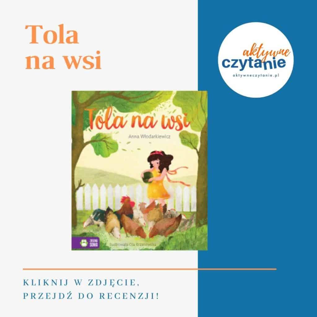 Tola nawsi książki dla dzieci montessori friendly