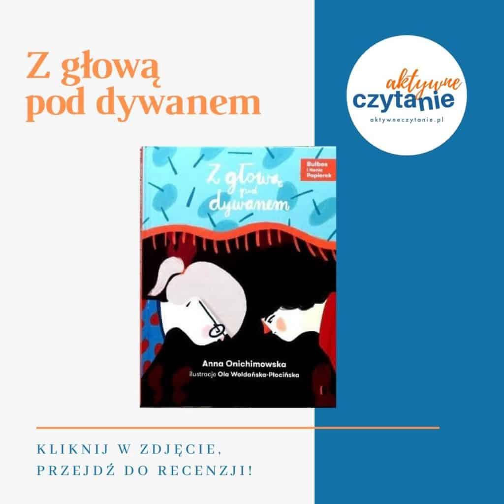 Z głową poddywanem książki dla dzieci montessori