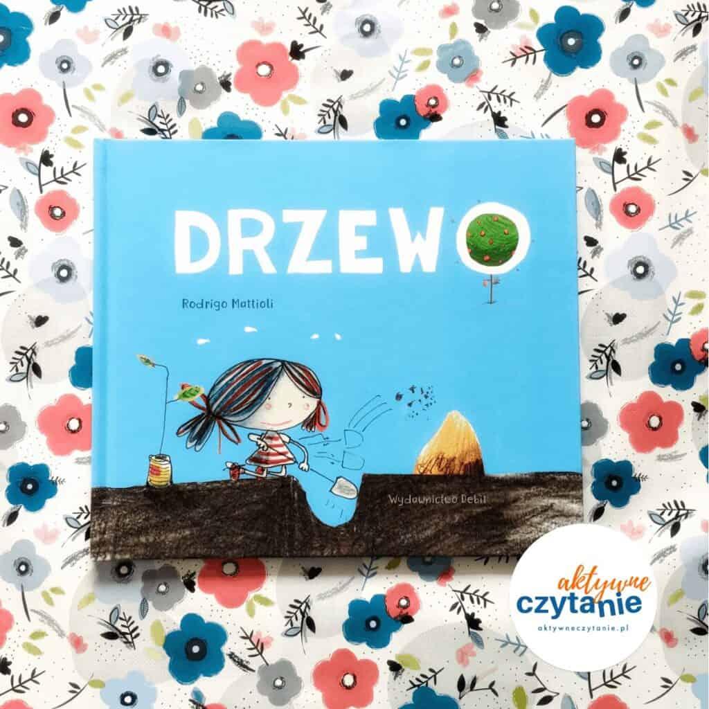 Drzewo ksiązki dla dzieci debit aktywne czytanie okładka