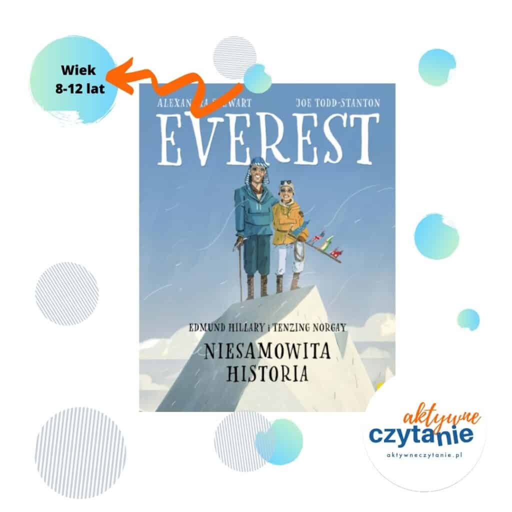 Everest ksiązki dla dzieci Wiek 8-12 latWiek 8-12 lat