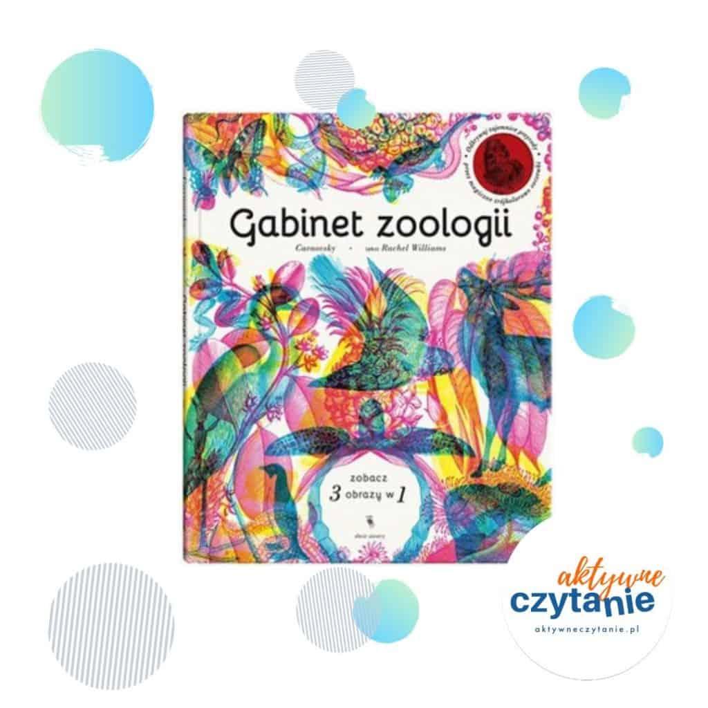 Gabinet zoologii interaktywne ksiązki dla dzieci