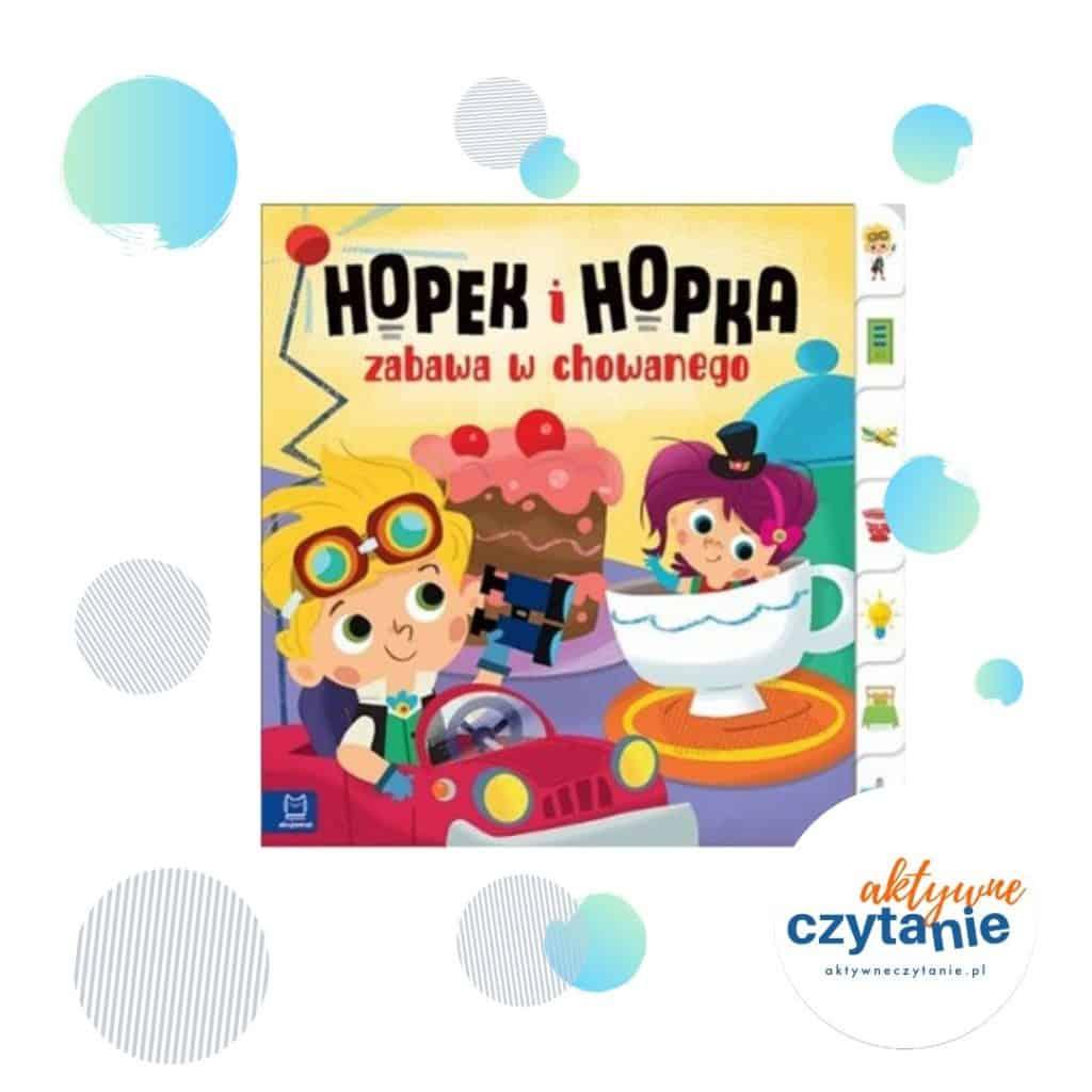 Hopek iHopka zabawa wchowanego interaktywne ksiązki dla dzieci