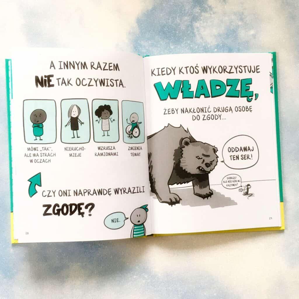 niedźwiedź książka komiks