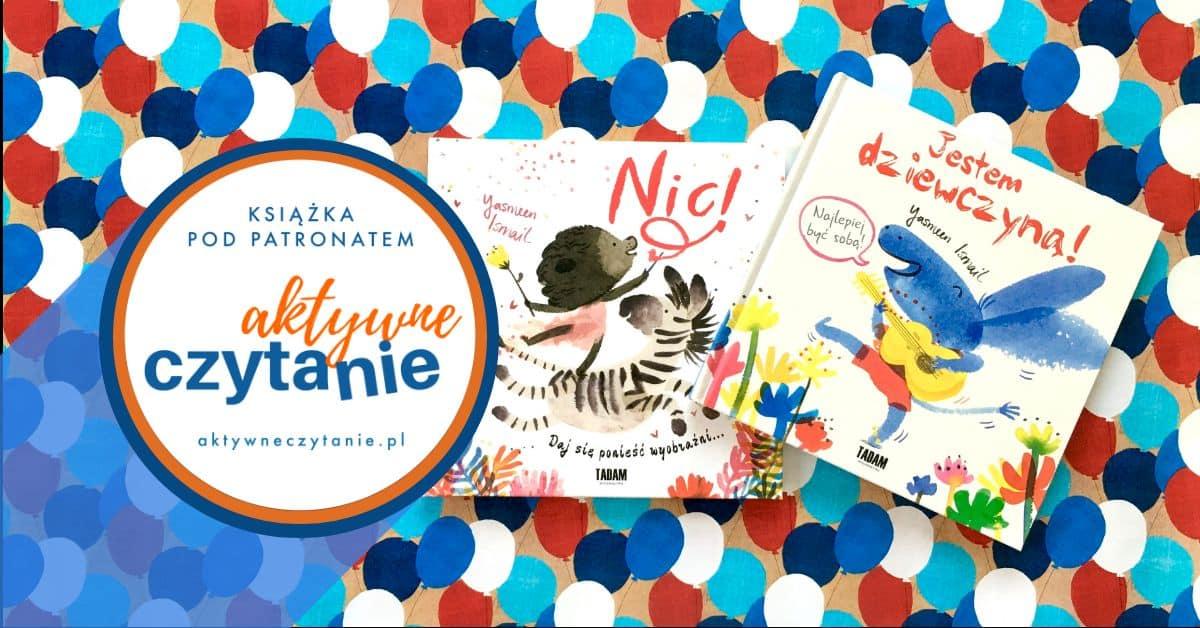 Jestem dziewczyną Nic recenzja ksiązki dla dzieci