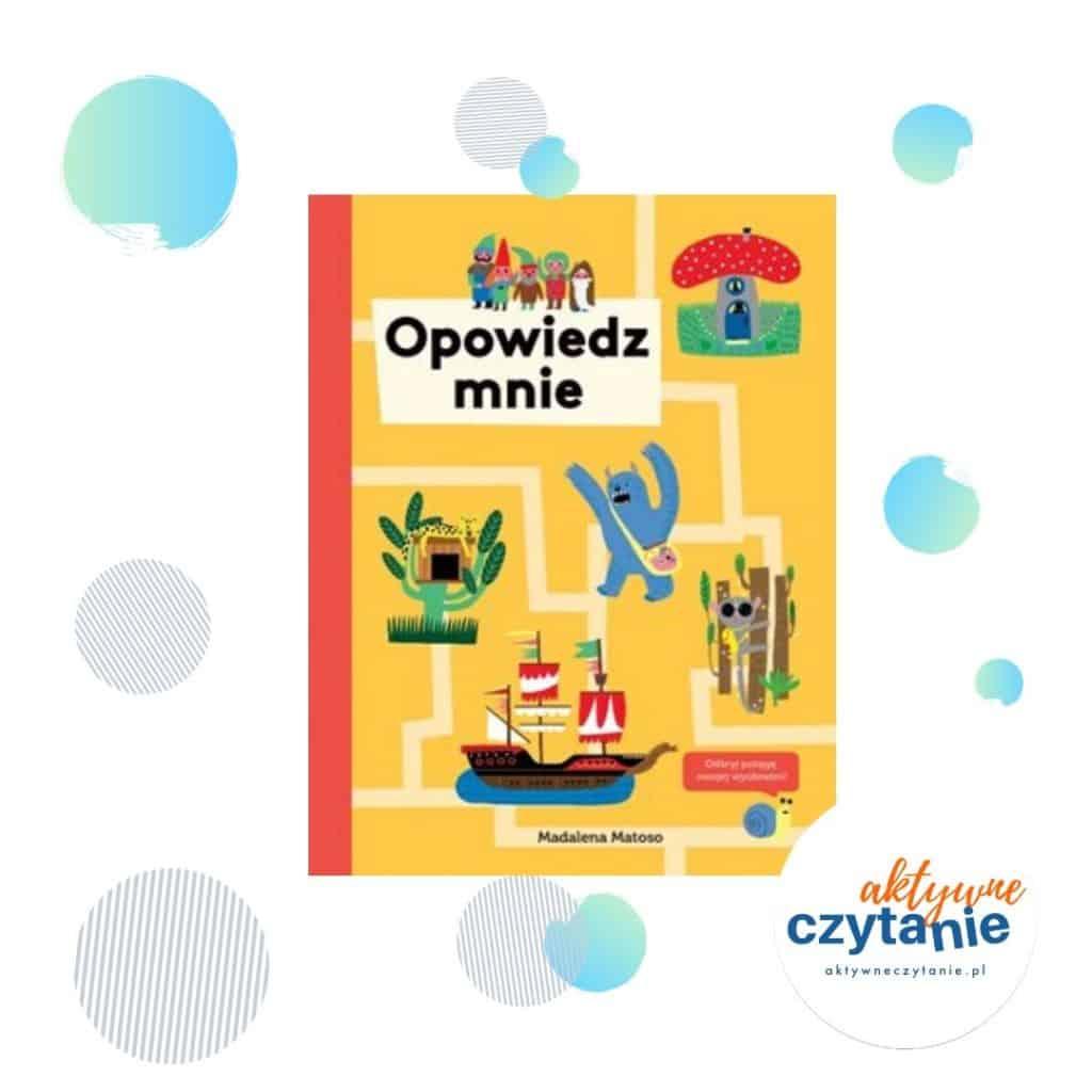 Opowiedz mnie interaktywna ksiązka dla dzieci