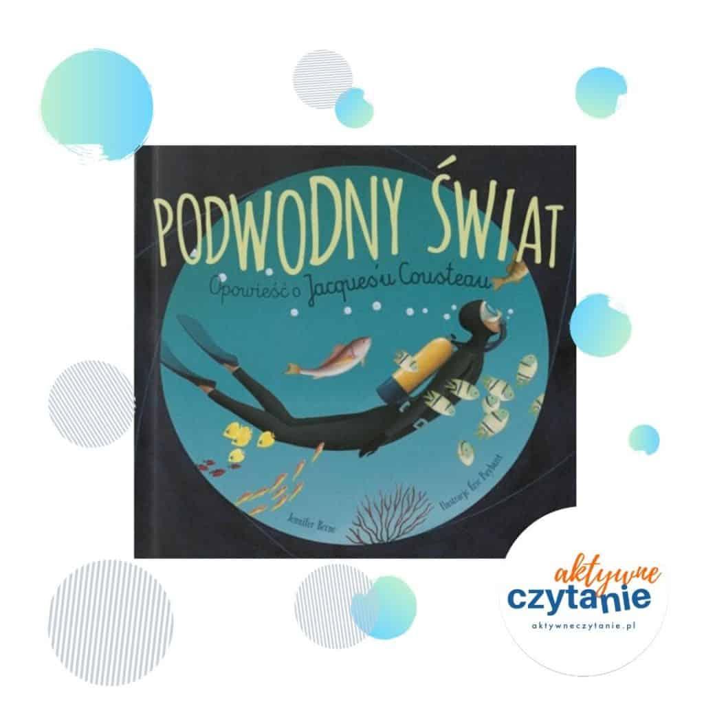 Podwodny świat ksiązki dla dzieci ekologia