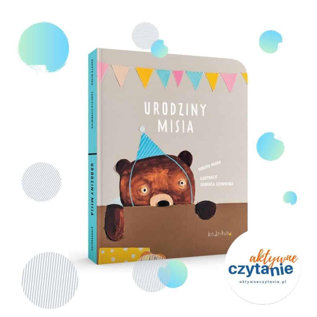 Urodziny misia interaktywne kisążki dla dzieci