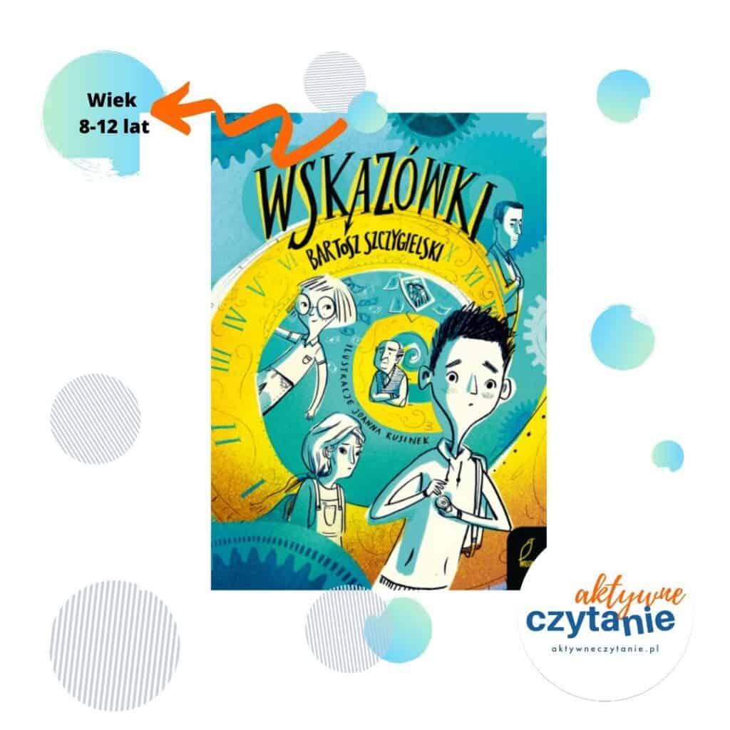 Wskazówki książki dla dzieci Wiek 8-12 lat