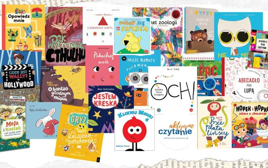 Interaktywne iaktywizujące książki dla dzieci