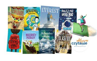 9 przygodowych książek, odktórychdzieci się nieoderwą