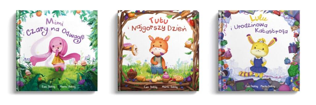 3 ksiązki dla dzieci Tumilu